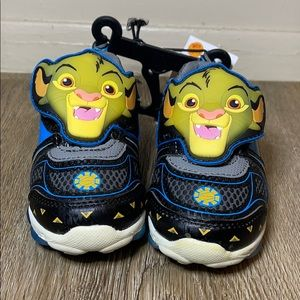 The Lion King light up sneakers